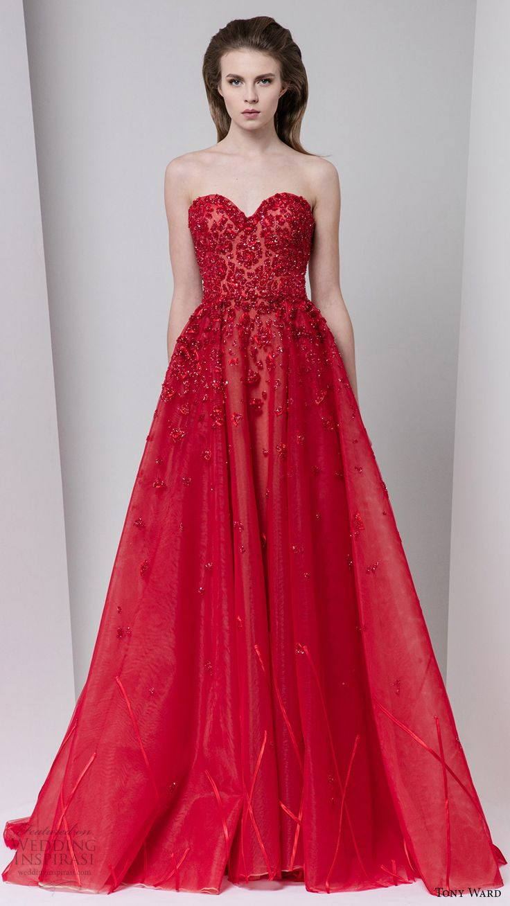 25  best ideas about Red evening gowns on Pinterest | Red formal ...