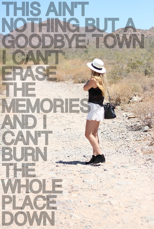 Goodbye Town - Lady Antebellum