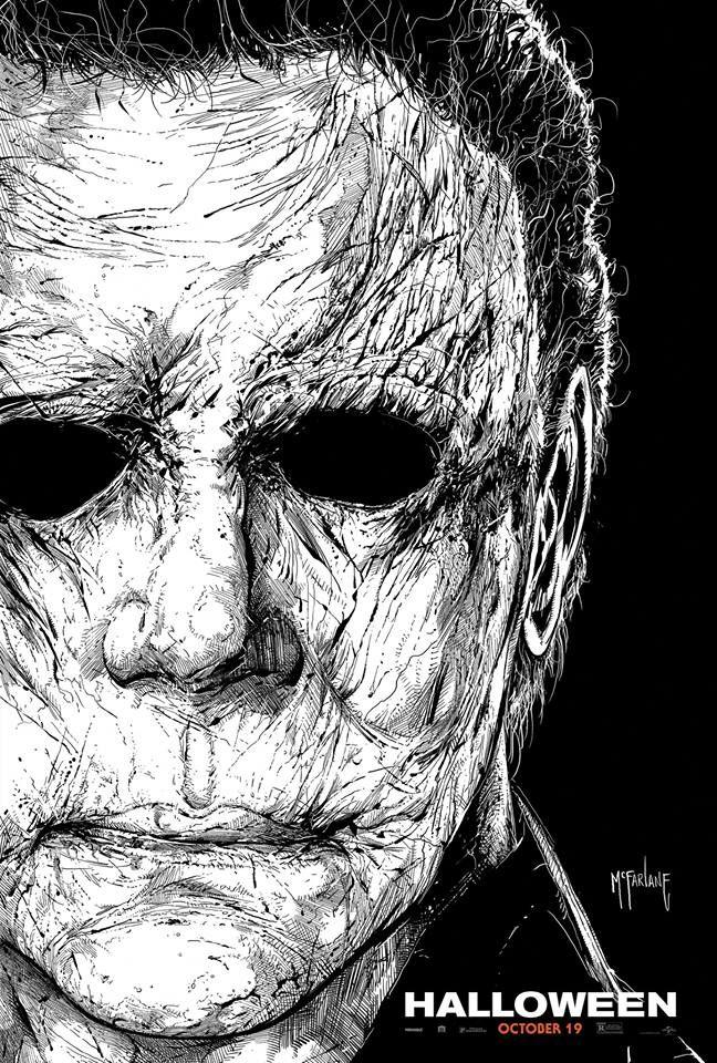 """O mal é real"", confira o novo cartaz arte HalloweenMovie"