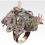 Jewelry inspired by Istanbul's history - Sevan Bicakci - ring
