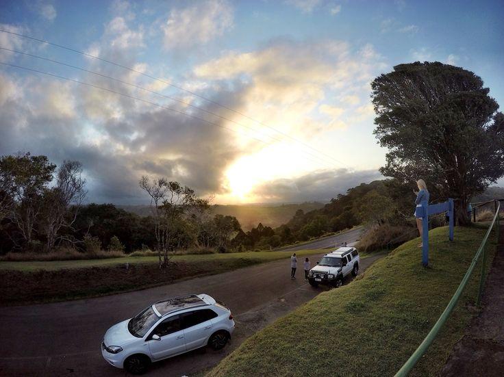 Sunset GoPro Sunshinecoast travel Maleny Queensland