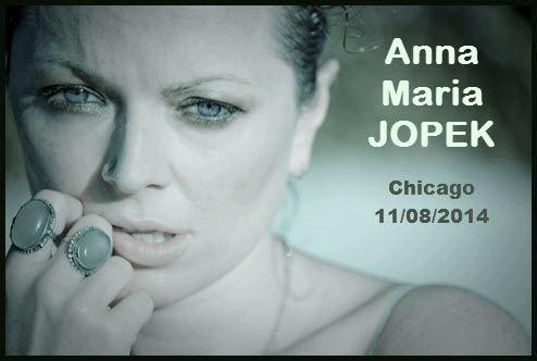 Anna Maria Jopek   Chicago   Copernicus Center   Concert   Anna Maria Jopek w Chicago