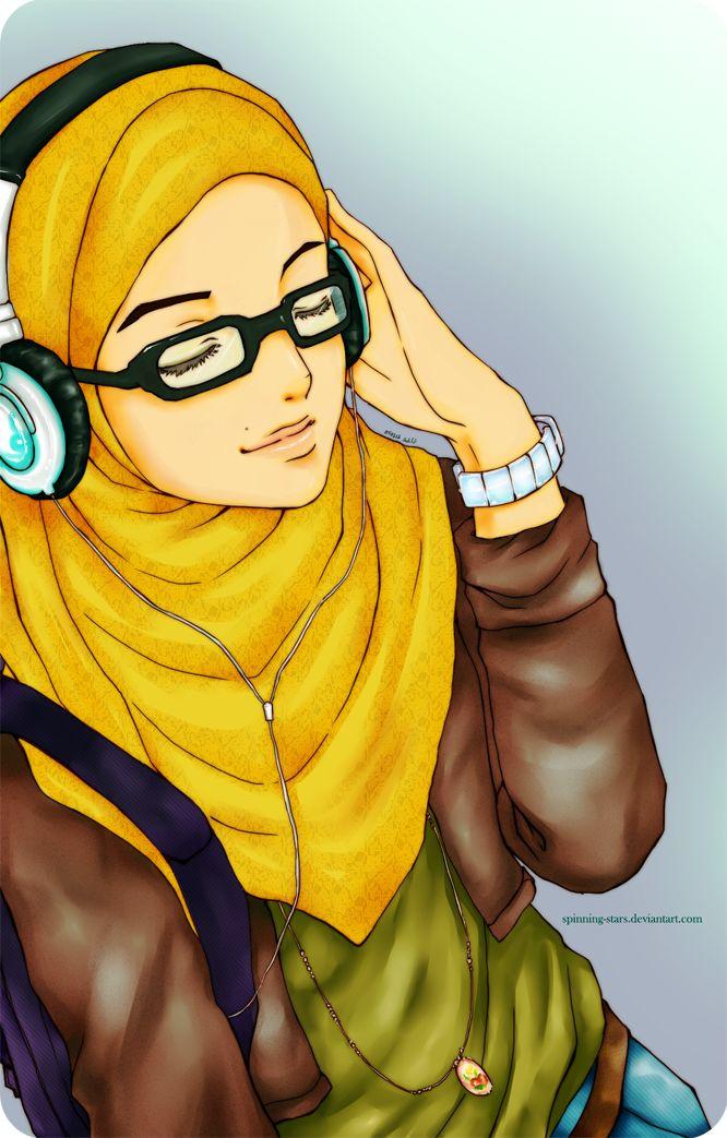 Hijab_Muslimah_anime