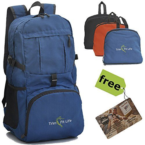 TravPack-30L Top Rated Best Lightweight Travel Backpack in USA. Handy Foldable Durable Hiking Camping Daypack for Men Women & Children-Water Resistant for Outdoor Sports and active lifestyle (Blue) - check it out at... http://backpackingandcampingessentials.com/camping-gear/travpack-30l-top-rated-best-lightweight-travel-backpack-in-usa-handy-foldable-durable-hiking-camping-daypack-for-men-women-children-water-resistant-for-outdoor-sports-and-active-lifestyle-blue/