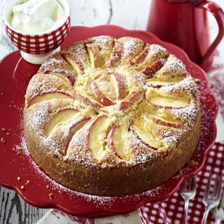 Apfel-Mandel-Kuchen Rezept | LECKER