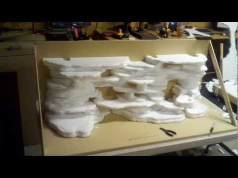 How to Build 3D rock backgrounds for Reptile Enclosures ! step by step! - YouTube