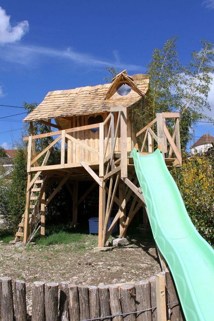 Строим домик-принцессы: поддоны, доски, свободное время и ваша фантазия
