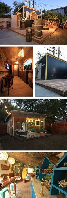 Pub and party sheds are taking over backyards across the country. Get ahead of the trend and turn your old storage shed into a trendy entertaining space.