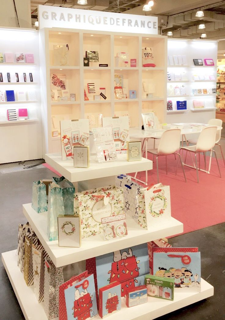 The Graphique de France booth at NY Now. Booth 7226 in the Javits Convention Center.