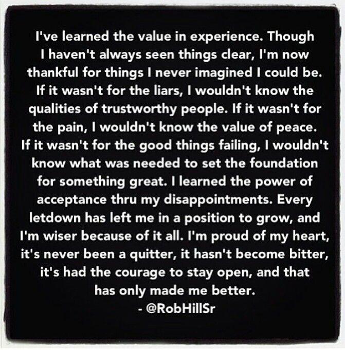 Rob hill sr quote