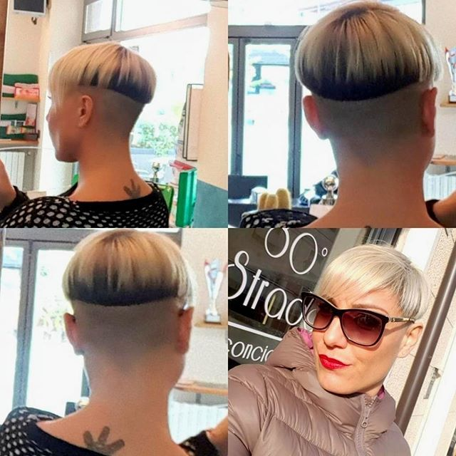 WEBSTA @lifetooshortforboringhair What do you think of this cut and color?
