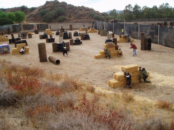 530 Best Images About Paintball Field Inspiration On