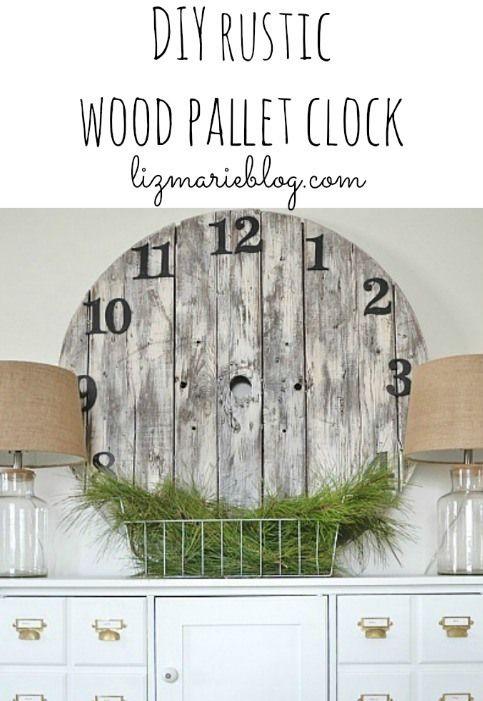 17 best images about horloge palette on pinterest pallet wood cedar wood and strada. Black Bedroom Furniture Sets. Home Design Ideas