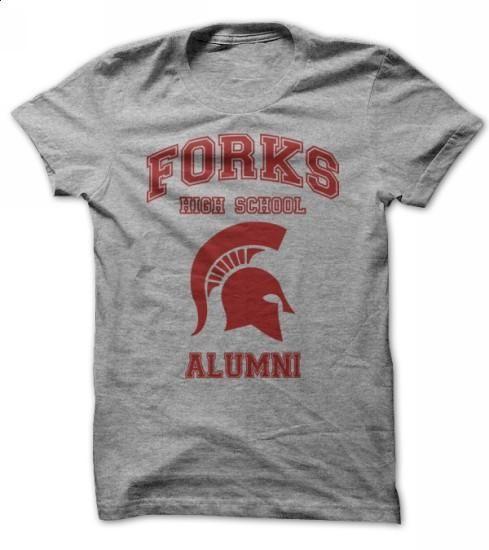 Forks High School Alumni Tee - custom sweatshirts #checked shirt #tshirts