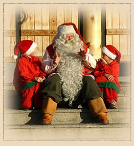 As we all know, Santa Claus lives in Finland. Come visit him in Korvatunturi!
