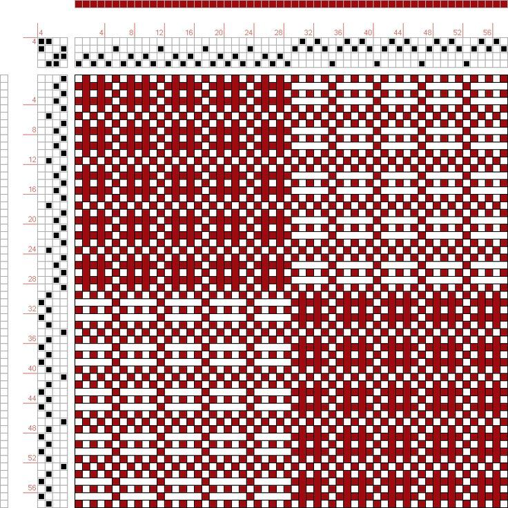 17 Best images about 4 shaft weaving drafts on Pinterest | Hand weaving, Loom and Weaving patterns
