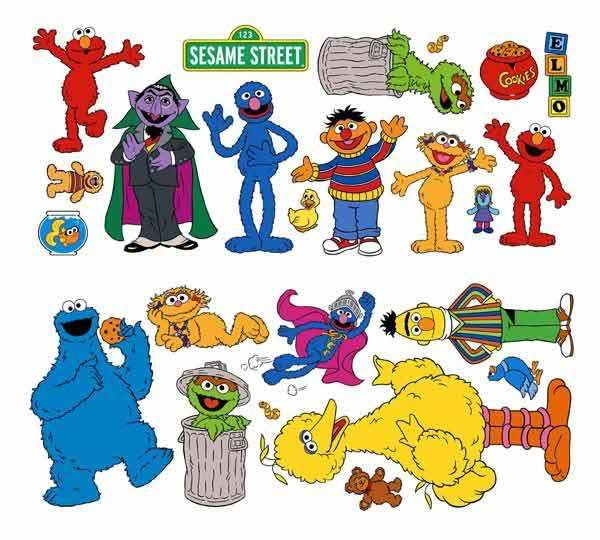 Cartoon Characters Named Zoe : Sesame street clip art edible images pinterest
