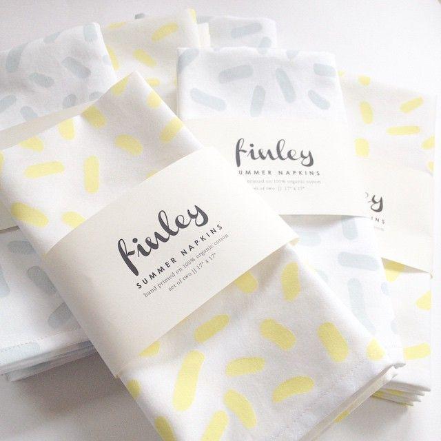Finley napkins - caitlyn ryall