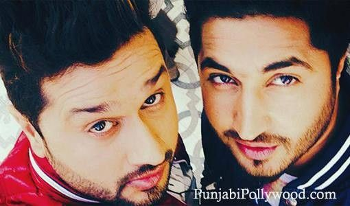 Roshan Prince and Jassi Gill ....Look like twins