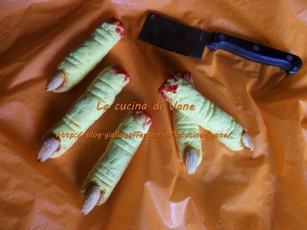 dita della strega ricetta halloween