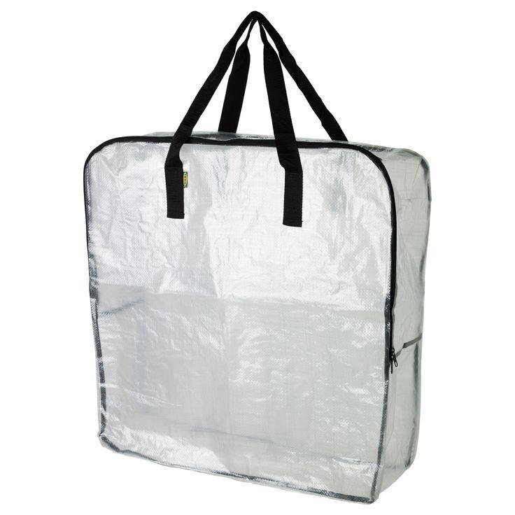 Ikea Dimpa Clear Storage Bag How To Bag Storage