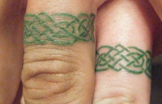 wedding ring tattoos im going to do this but w uchiha