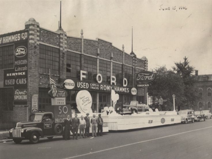 1946 Romy Hammes Ford Dealership, South Bend, Indiana