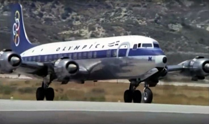Olympic Airways Douglas DC-6B [SX-DAH]