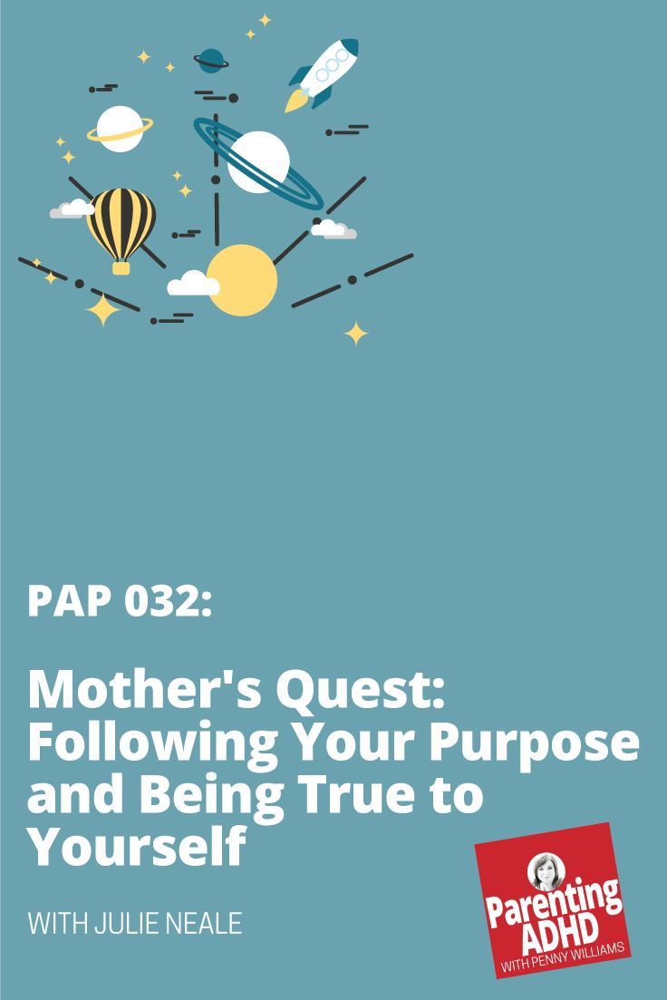 Podcast: Mother's Quest: Following Your Purpose and Being True to Yourself, with Julie Neale via @pennywauthor