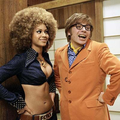 """In 2002, Knowles co-starred in the comedy flick """"Austin Powers Goldmember,"""" playing Foxxy Cleopatra, opposite Mike Myers.   The Daily Caller"""