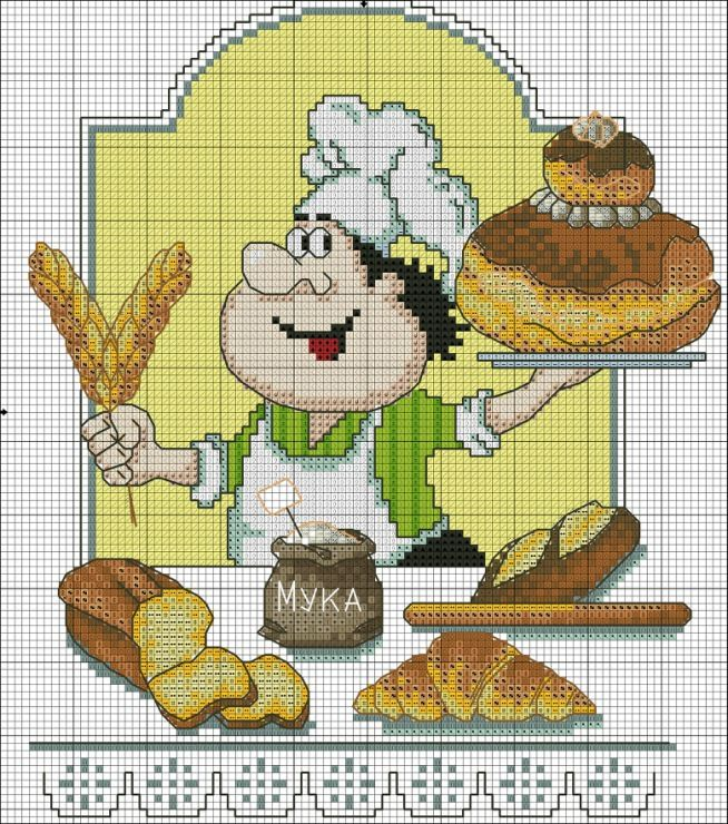 baker cross stitch