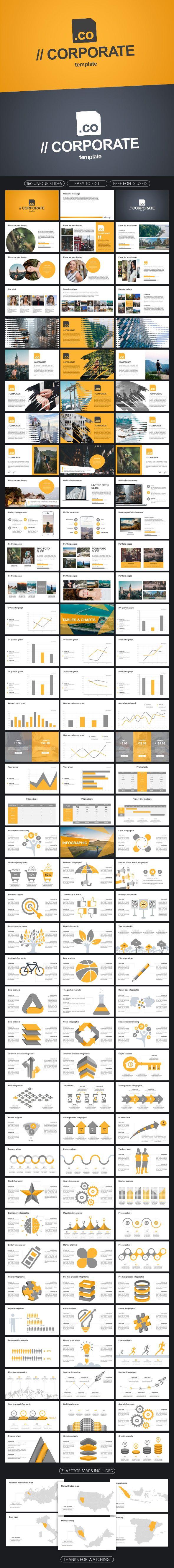 Corporate Keynote Template - Business Keynote Templates