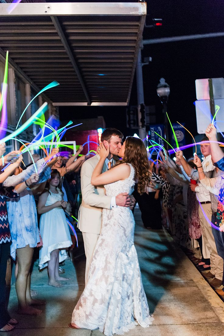 What a fun grand exit captured by 3Eight Photography! Glow sticks are the new sparklers! Click the image to learn more. Photo credit: 3Eight Photography