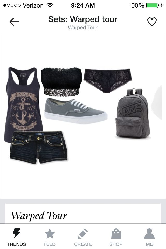 Warped outfit