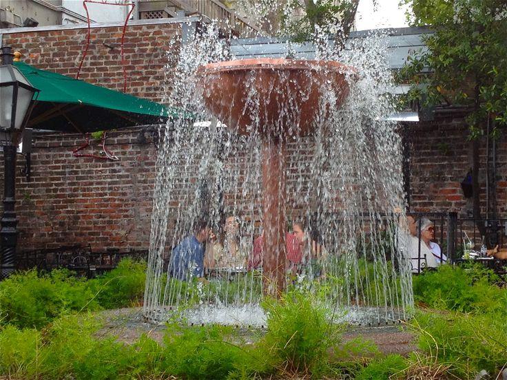Fountain at Pat O' Brien's