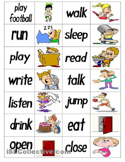 132 best Speech Therapy - verbs images on Pinterest ...