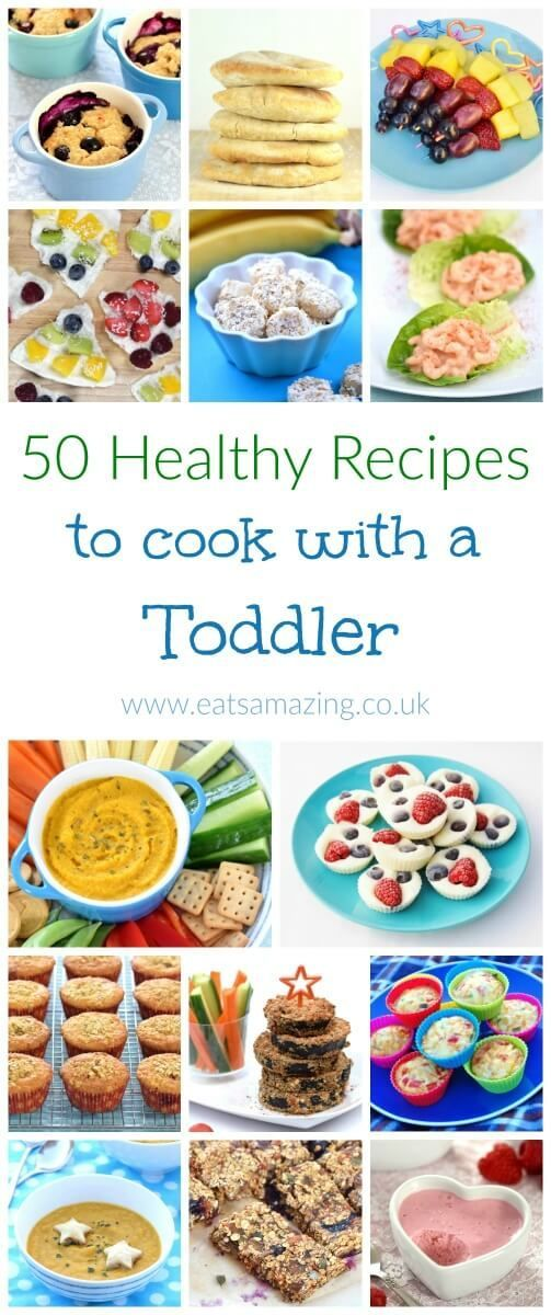 Top tips for how to cook with toddlers and 50 easy healthy recipes to cook with younged kids - Eats Amazing UK