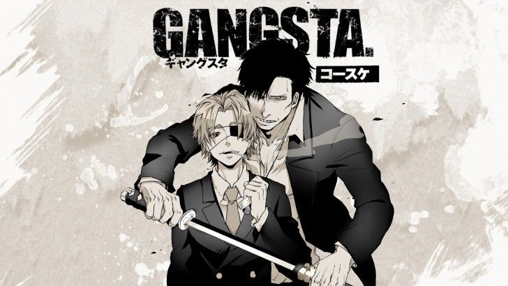 Download Nicolas Brown GANGSTA Anime Wallpaper 1920x1200