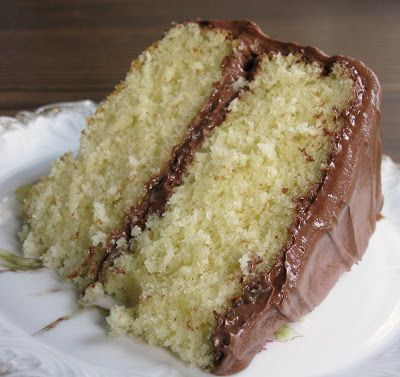 Old Fashioned Butter Cake with Perfectly Chocolate Frosting...Delicious and from a 1910 McCall's Cookbook.