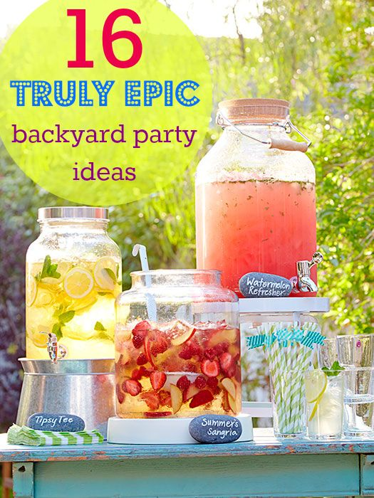 Backyard Party Menu Ideas fun backyard party ideas decor and themes The 14 All Time Best Backyard Party Ideas
