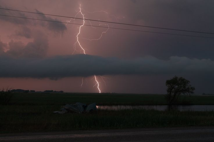 June 20th west of Rouleau Sask.  One of my favorites so far this year