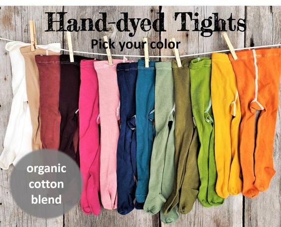 Pumpkin tights Organic baby tights mustard tights,organic cotton tights,baby stockings,toddler tights,orange tights fall baby tights