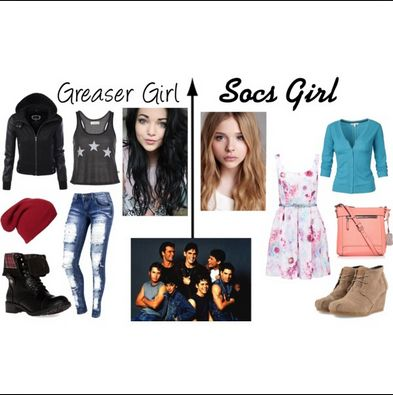 what did greaser girls wear