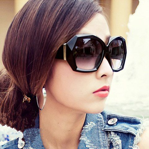 Stylish Full Frame Anti-UV Sunglasses For Women