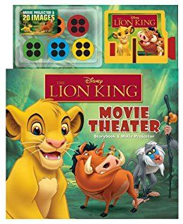 Disney The Lion King Movie Theater: Storybook & Movie Projector Price:$17.99