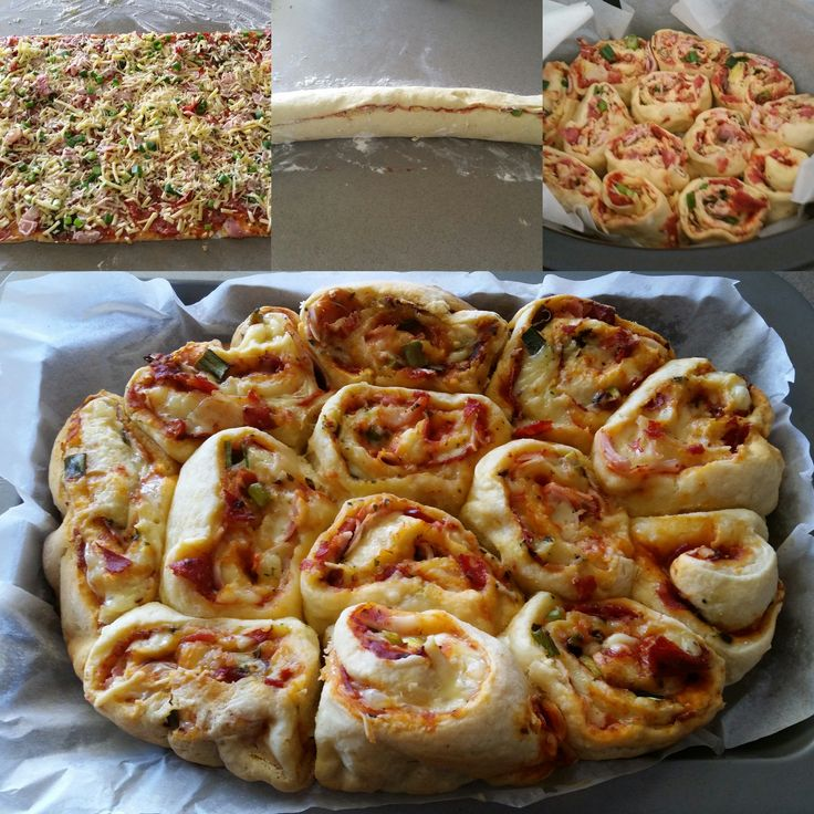 Homemade Pizza Scrolls |