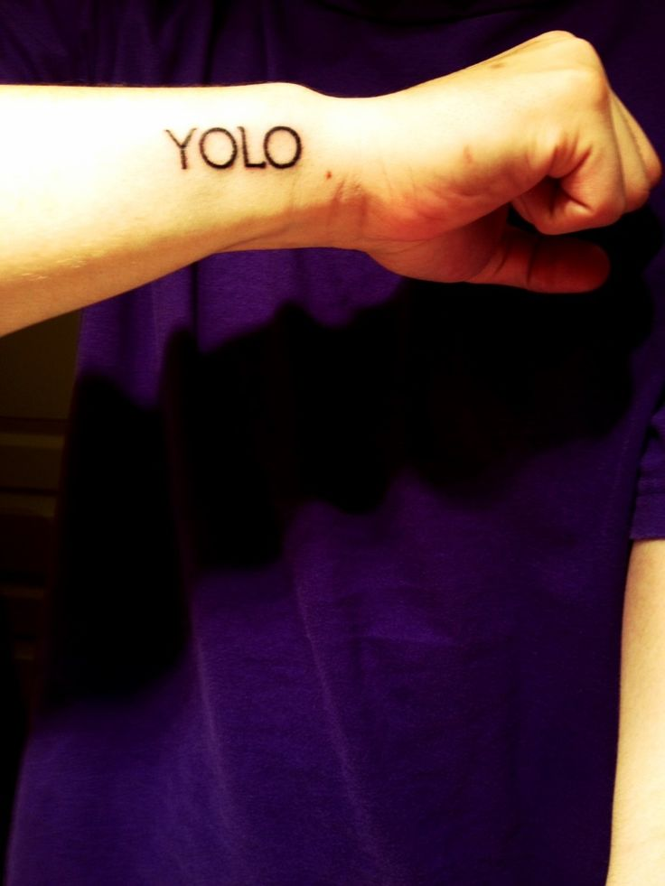 yolo-tattoo-you only live once   Tattoos   Pinterest