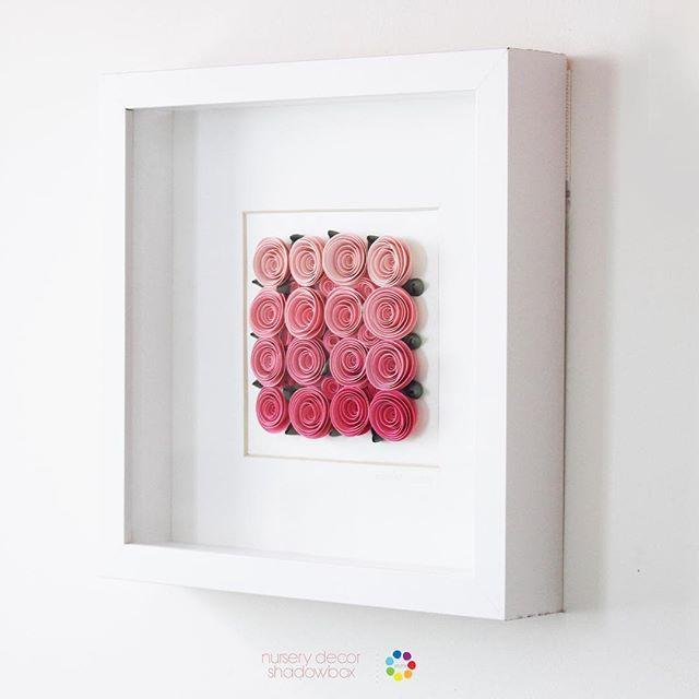 #mulpix Так сладко для комнаты маленькой девочки 🌷 Бумажные розы Питомник Декор 🌷 #paperrose #ombre #itsagirl #babygirl