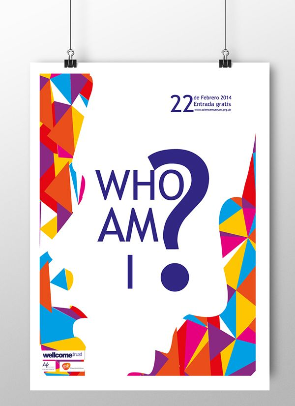 who am i? on Behance  Parts created from a museum event, shown in class // Piezas creadas a partir del evento de un museo, muestra en clase.
