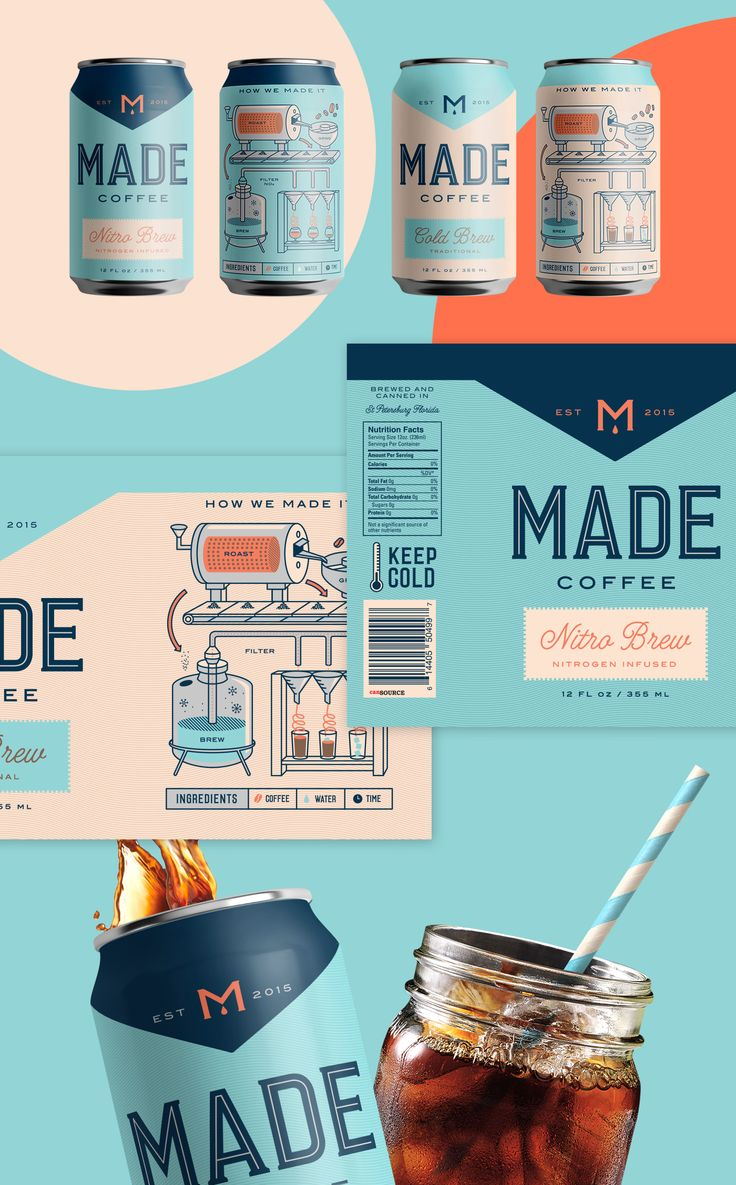 A coffee packaging project I worked on at Hype Group, an agency based out of St Petersburg, FL.